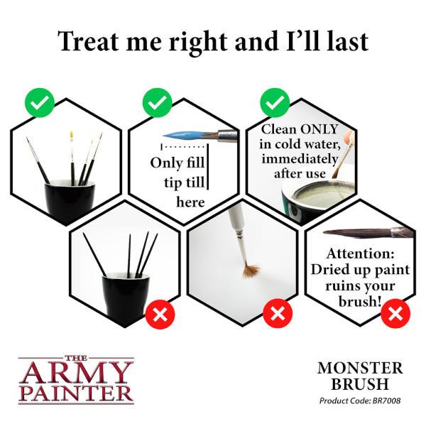 Army Painter Monster Brush (Wargamer)