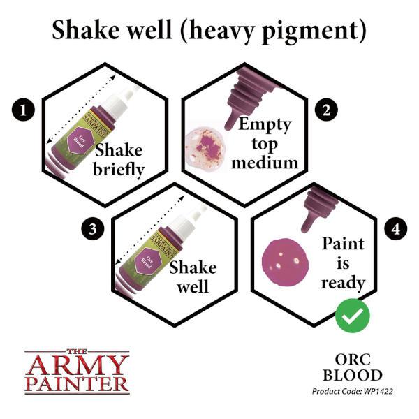 Army Painter Orc Blood Warpaint