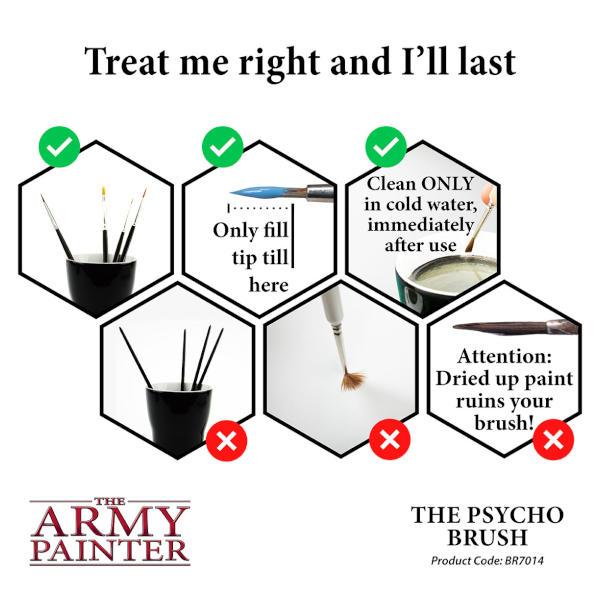 Army Painter Psycho Brush (Wargamer)