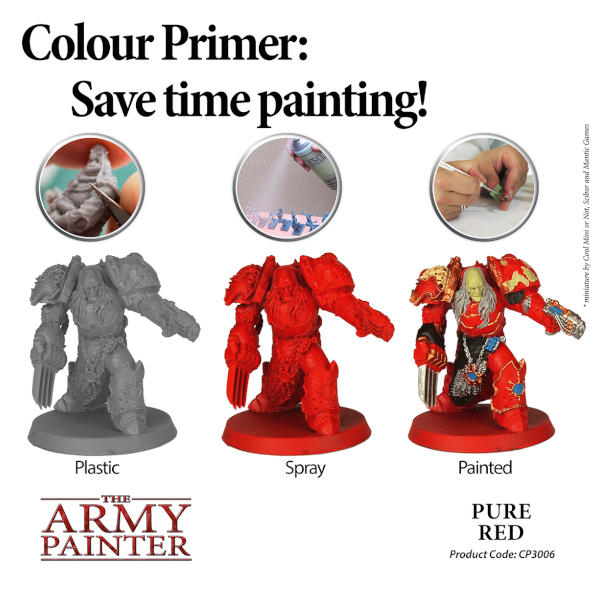 Army Painter Pure Red Colour Primer
