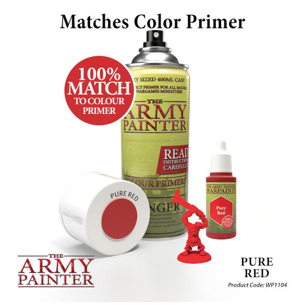 Army Painter Pure Red Warpaint