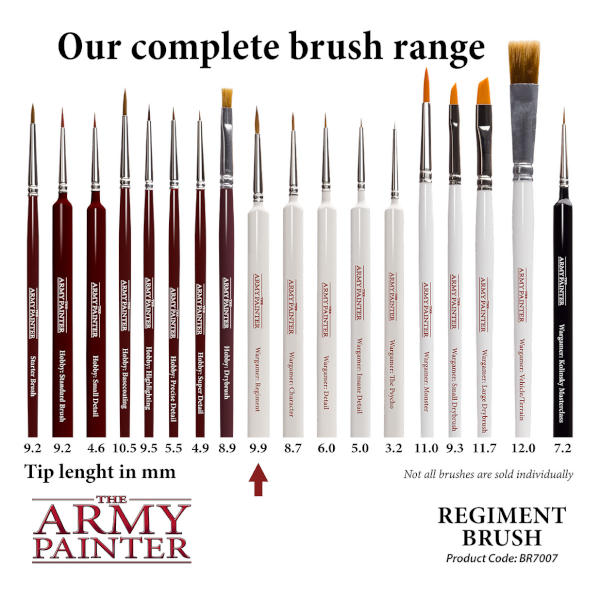 Army Painter Regiment Brush (Wargamer)