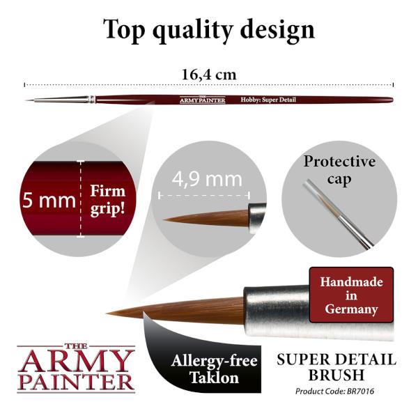 Army Painter Super Detail Brush
