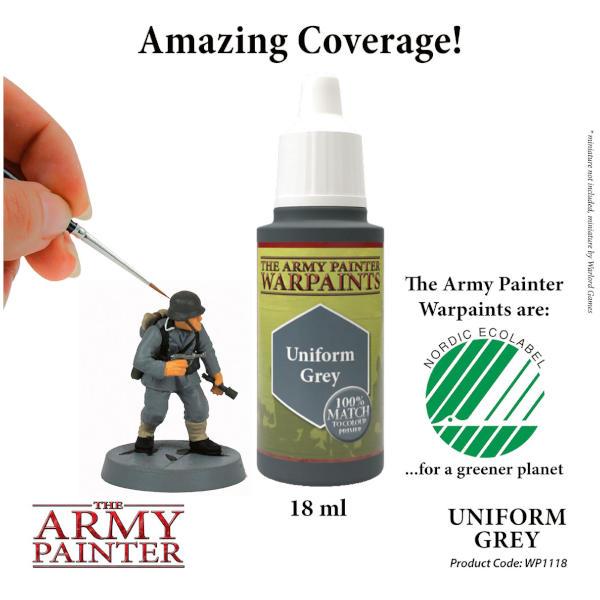 Army Painter Uniform Grey Warpaint
