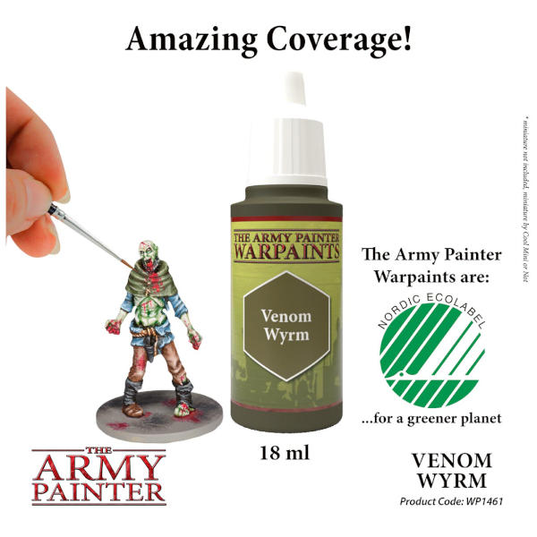 Army Painter Venom Wyrm Warpaint