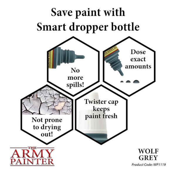 Army Painter Wolf Grey Warpaint