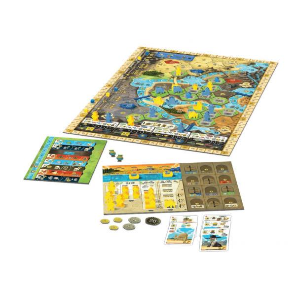 Boonlake Board Game board.