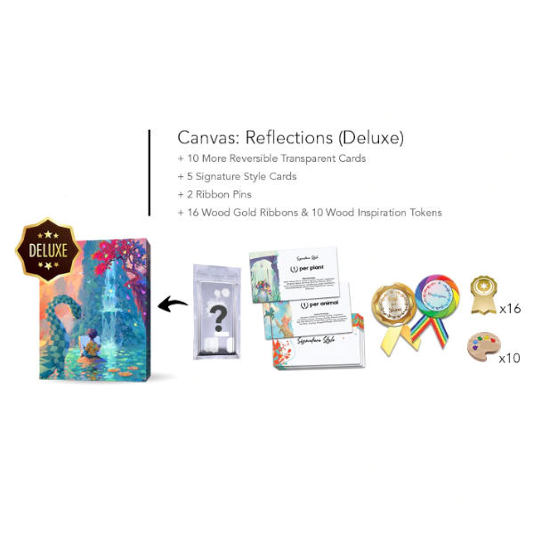 Canvas Reflections Expansion box and deluxe components.