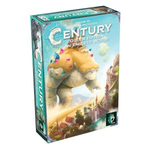 Century Golem an Endless World Board Game box cover.