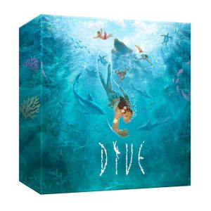 Dive Board Game box cover.
