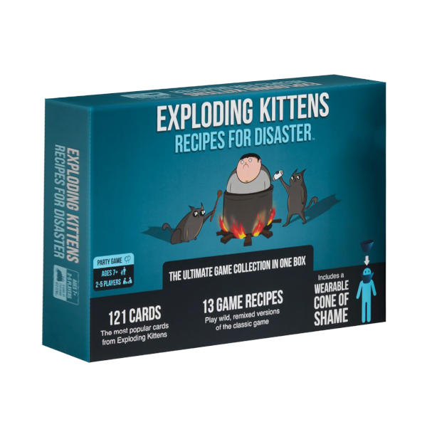 Exploding Minions Recipes for Disaster Box cover.