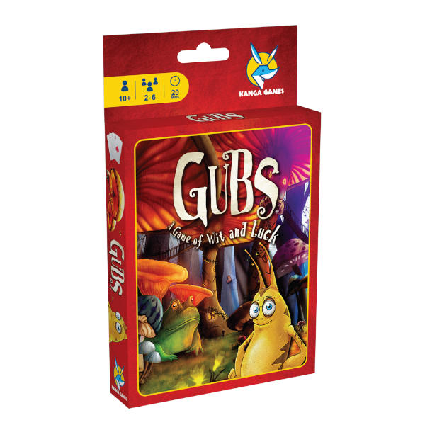 Gubs Card Game box cover.