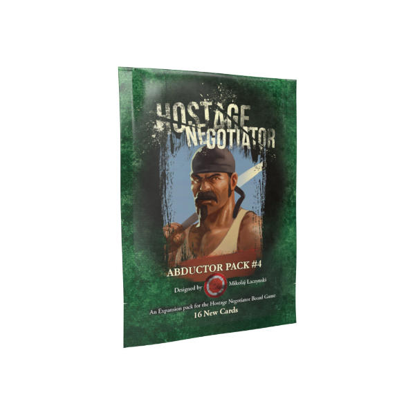 Hostage Negotiator Abductor Pack 4 Expansion pack cover.