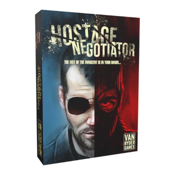 Hostage Negotiator Board Game box cover.