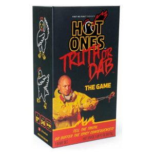 Hot One Truth or Dab the Game front of box.