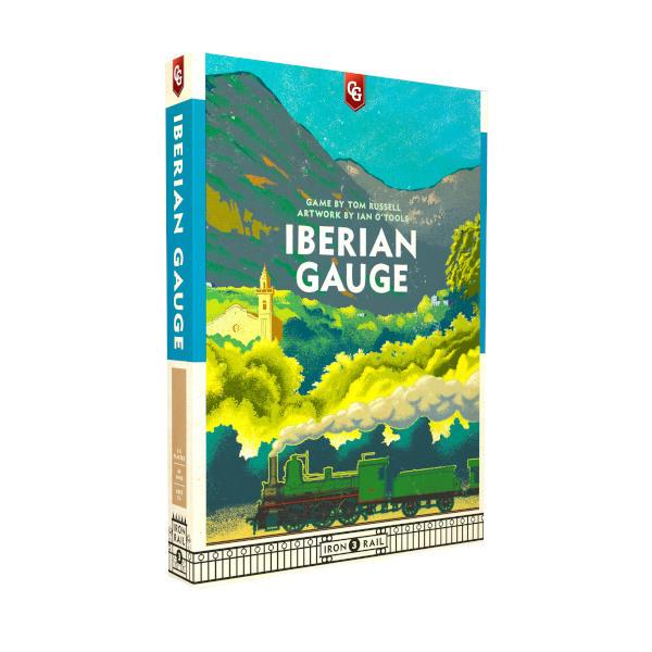 Iberian Gauge Board Game box cover.