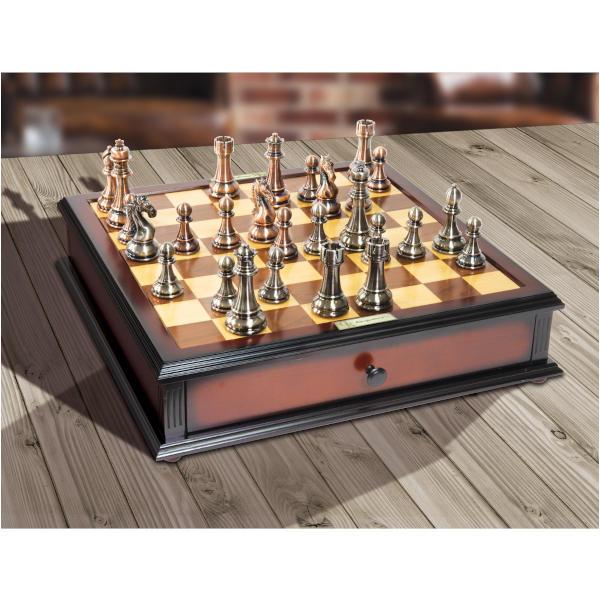 Kasparov Grandmaster Chess Set on table.