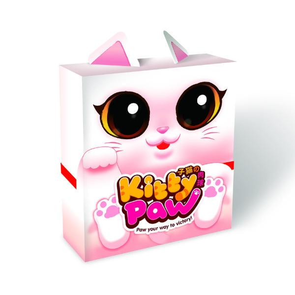 Kitty Paw Board Game box.