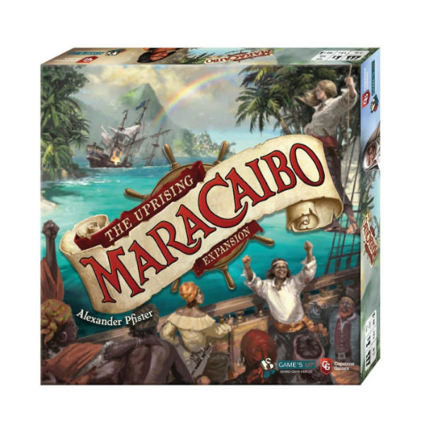 Maracaibo the Uprising Expansion box cover.