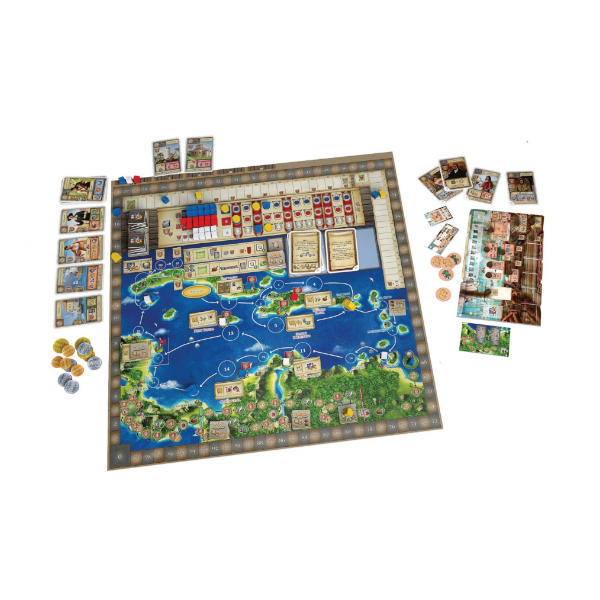 Maracaibo the Uprising Expansion game board.