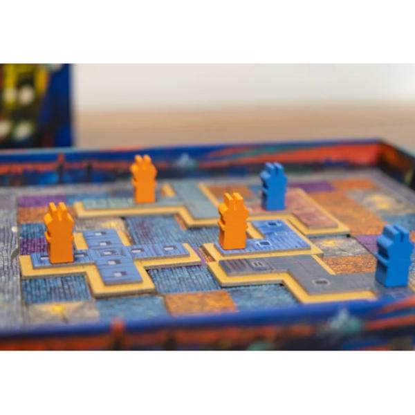 Paris Lumiere Board Game components.