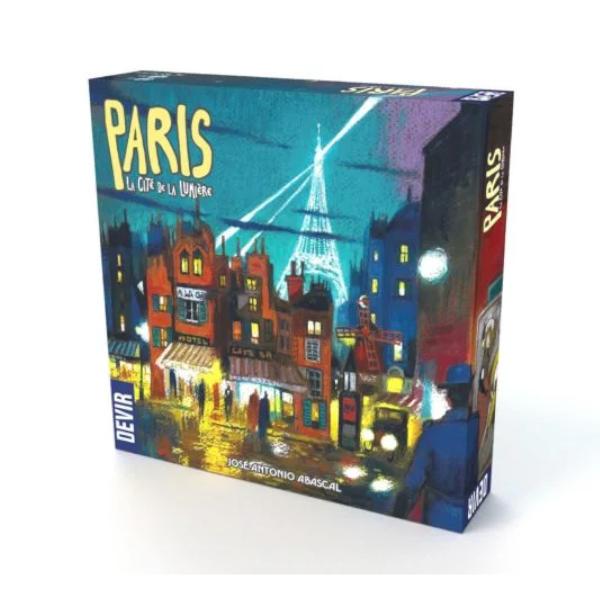 Paris Lumiere Board Game box cover.