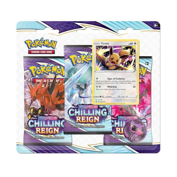 Pokemon Chilling Reign Blister Eevee..