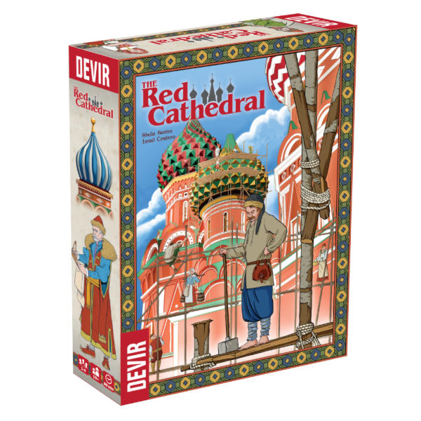 Red Cathedral Board Game box cover.