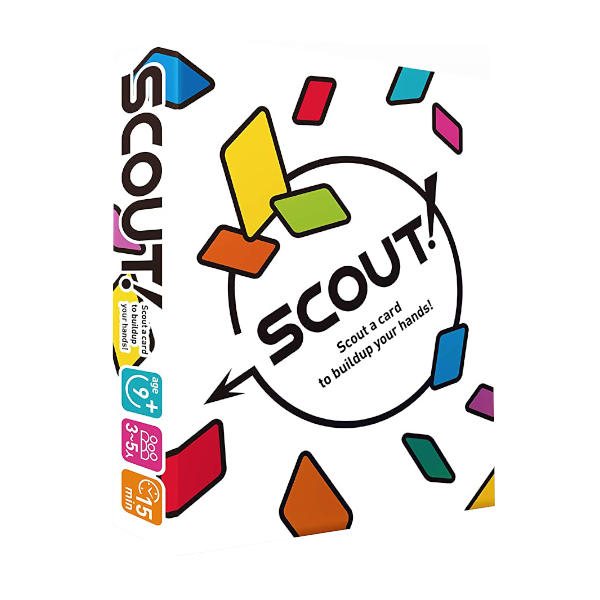 Scout Card Game box cover.