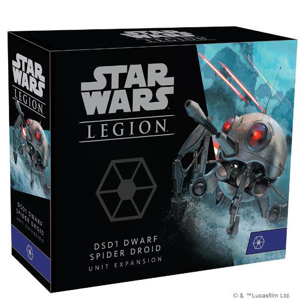 Star Wars Legion DSD1 Dwarf Spider Droid Unit Expansion front of box.