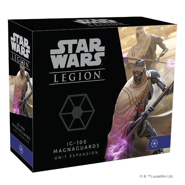 Star Wars Legion IG-100 Magnaguards Unit Expansion box cover.