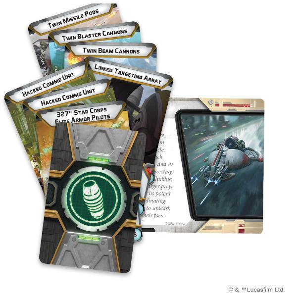 Star Wars Legion Infantry Support Platform Unit Expansion cards.