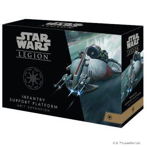 Star Wars Legion Infantry Support Platform Unit Expansion front of box.