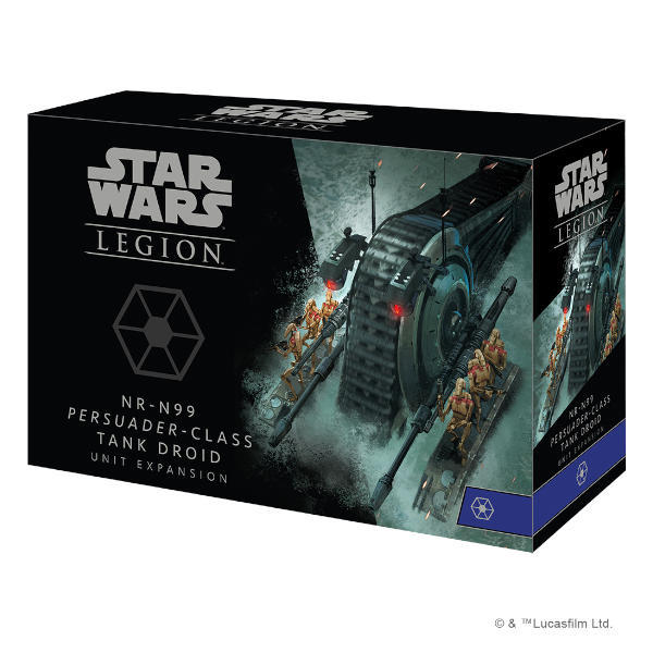 Star Wars Legion NR-N99 Persuader-Class Tank Droid Unit Expansion front of box.