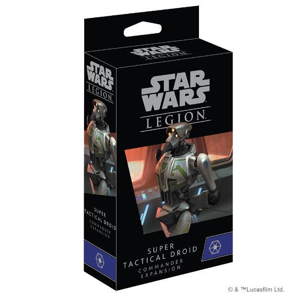 Star Wars Legion Super Tactical Droid Commander box cover.