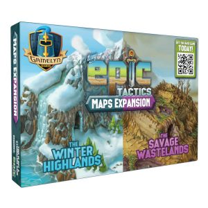 Tiny Epic Tactics Map Expansion box cover.
