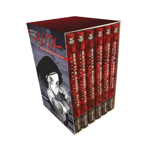 Battle Angel Alita Deluxe Complete Series Box Set HC