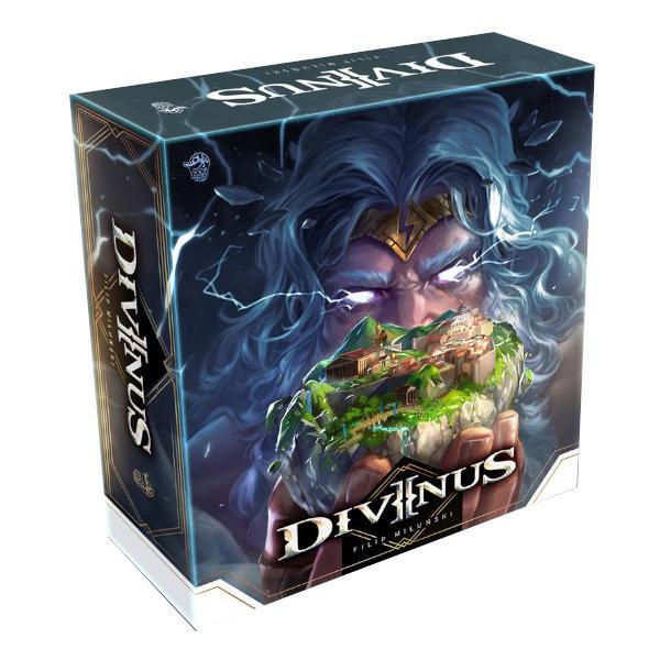 Divinus Board Game Gamefound Pantheon Pledge box.