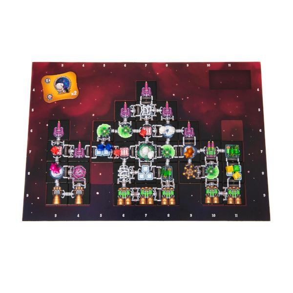 Galaxy Trucker Board Game player board.