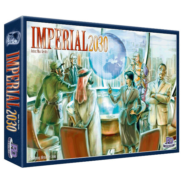 Imperial 2030 Board Game box cover.