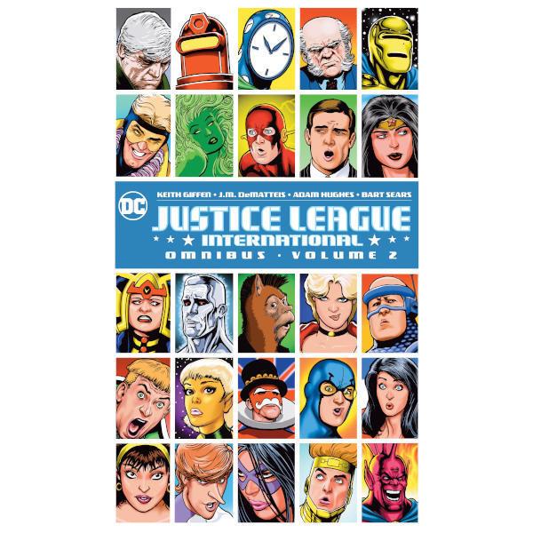 Justice League International Omnibus Volume 2 HC