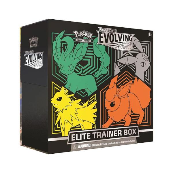Pokemon TCG Evolving Skies Elite Trainer Box cover 1.