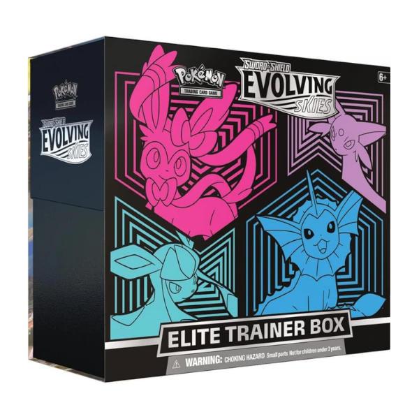 Pokemon TCG Evolving Skies Elite Trainer Box cover 2