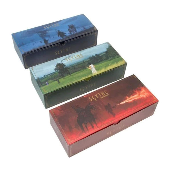 Scythe Legendary Box Expansion Tuckboxes.