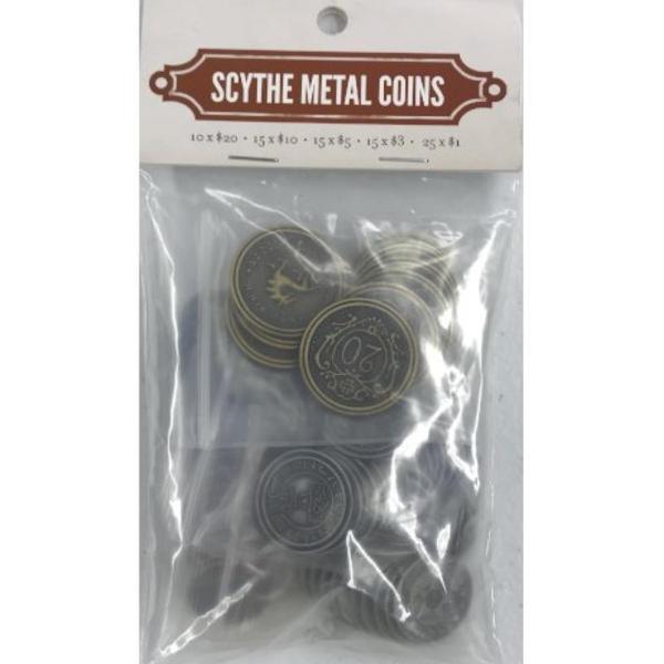 Scythe Metal Coins packet.