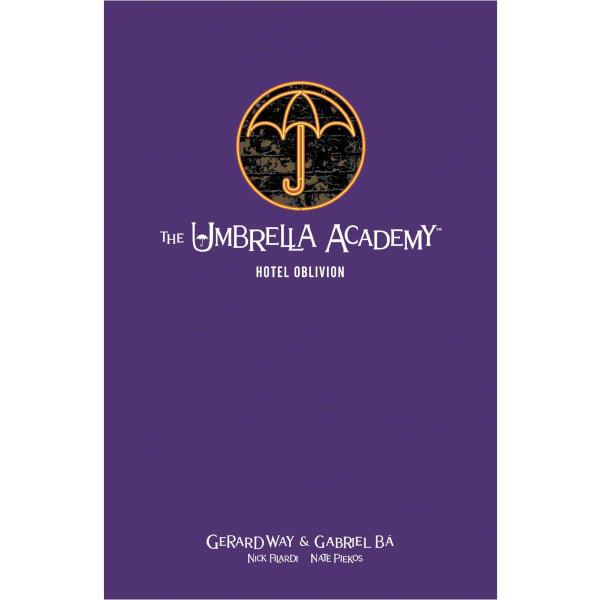 Umbrella Acarademy Library Edition Volume 3 HC Hotel Oblivion