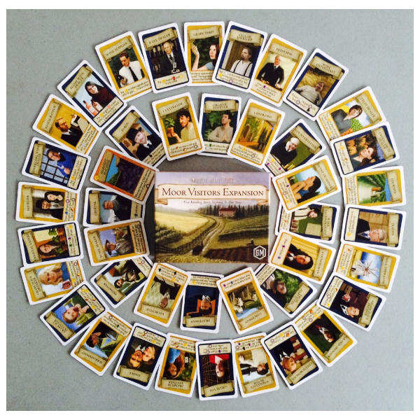 Viticulture Moor Visitors Expansion card fan.