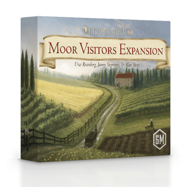 Viticulture Moor Visitors Expansion front of box.