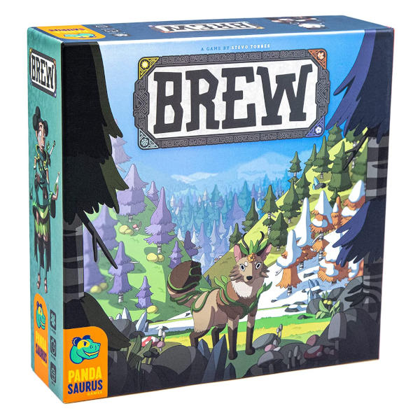 Brew Board Game front of box.