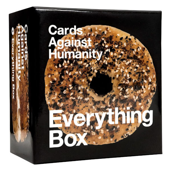 Cards Against Humanity Everything Box front cover.